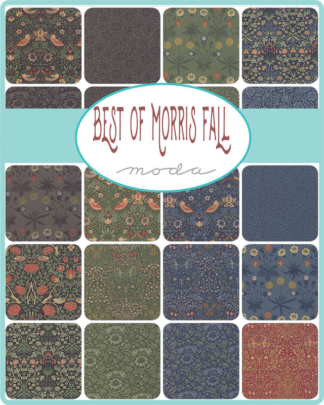 [cp]moda BEST OF MORRIS FALL 42枚セット